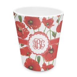 Poppies Plastic Tumbler 6oz (Personalized)