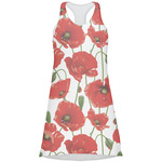 Poppies Racerback Dress (Personalized)