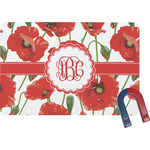 Poppies Rectangular Fridge Magnet (Personalized)