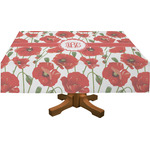 Poppies Tablecloth (Personalized)