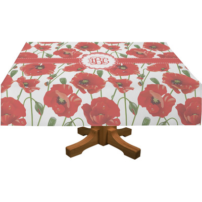 "Poppies Tablecloth - 58""x102"" (Personalized)"