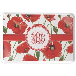 Poppies Serving Tray (Personalized)