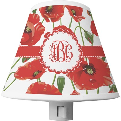 Poppies Shade Night Light (Personalized)