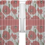 Poppies Sheer Curtains (Personalized)
