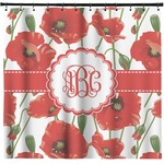 Poppies Shower Curtain (Personalized)