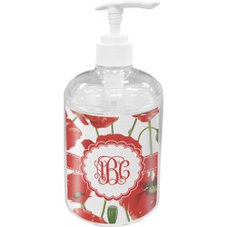 Poppies Soap / Lotion Dispenser (Personalized)