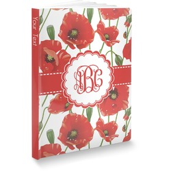 Poppies Softbound Notebook (Personalized)