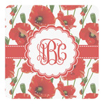 Poppies Square Decal - Custom Size (Personalized)