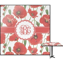 Poppies Square Table Top (Personalized)