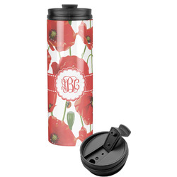 Poppies Stainless Steel Tumbler (Personalized)