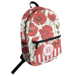 Poppies Student Backpack (Personalized)