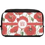 Poppies Toiletry Bag / Dopp Kit (Personalized)
