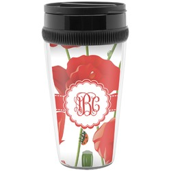 Poppies Travel Mug (Personalized)