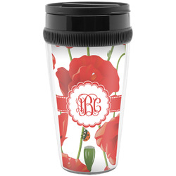 Poppies Travel Mug (Personalized)