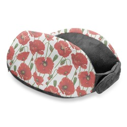 Poppies Travel Neck Pillow