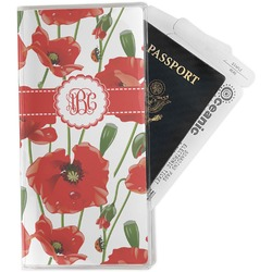 Poppies Travel Document Holder