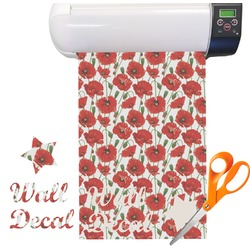 Poppies Vinyl Sheet (Re-position-able)