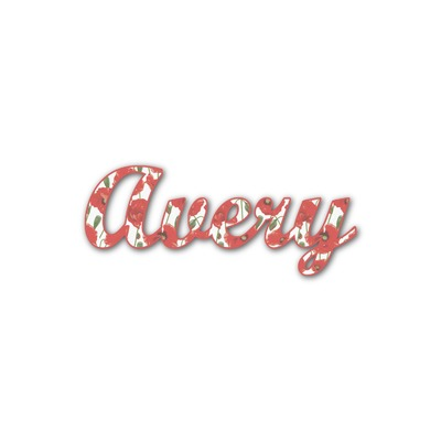 Poppies Name/Text Decal - Custom Sizes (Personalized)