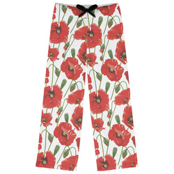 Poppies Womens Pajama Pants (Personalized)