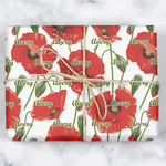 Poppies Wrapping Paper (Personalized)