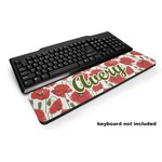 Poppies Keyboard Wrist Rest (Personalized)