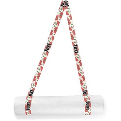 Poppies Yoga Mat Strap (Personalized)