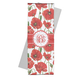Poppies Yoga Mat Towel (Personalized)