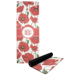Poppies Yoga Mat (Personalized)