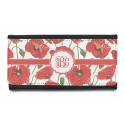 Poppies Leatherette Ladies Wallet (Personalized)