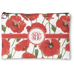 Poppies Zipper Pouch (Personalized)