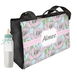 Wild Tulips Diaper Bag (Personalized)