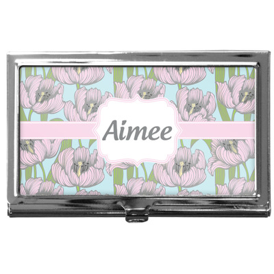 Wild Tulips Business Card Case