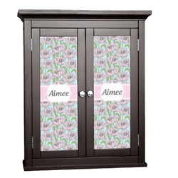 Wild Tulips Cabinet Decal - Custom Size (Personalized)