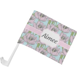 Wild Tulips Car Flag (Personalized)