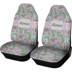Wild Tulips Car Seat Covers (Set of Two) (Personalized)