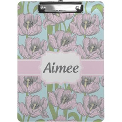 Wild Tulips Clipboard (Personalized)