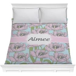 Wild Tulips Comforter (Personalized)