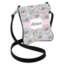 Wild Tulips Cross Body Bag - 2 Sizes (Personalized)