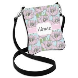 Wild Tulips Cross Body Bag - 2 Sizes (Personalized)