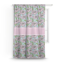 Wild Tulips Curtain (Personalized)
