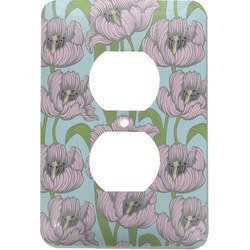 Wild Tulips Electric Outlet Plate (Personalized)