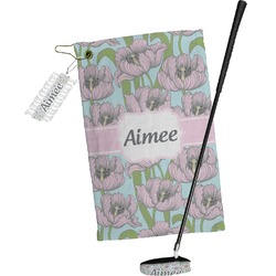Wild Tulips Golf Towel Gift Set (Personalized)
