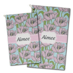 Wild Tulips Golf Towel - Full Print w/ Name or Text