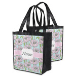 Wild Tulips Grocery Bag (Personalized)