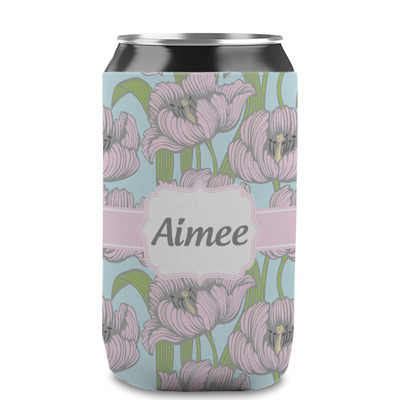 Wild Tulips Can Sleeve (12 oz) (Personalized)