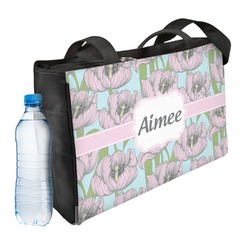 Wild Tulips Ladies Workout Bag (Personalized)
