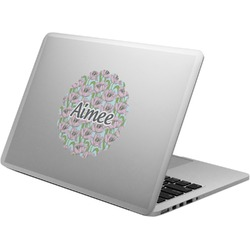 Wild Tulips Laptop Decal (Personalized)