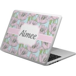 Wild Tulips Laptop Skin - Custom Sized (Personalized)