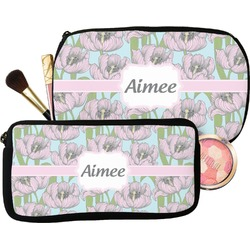 Wild Tulips Makeup / Cosmetic Bag (Personalized)
