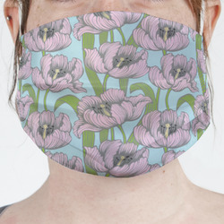 Wild Tulips Face Mask Cover (Personalized)